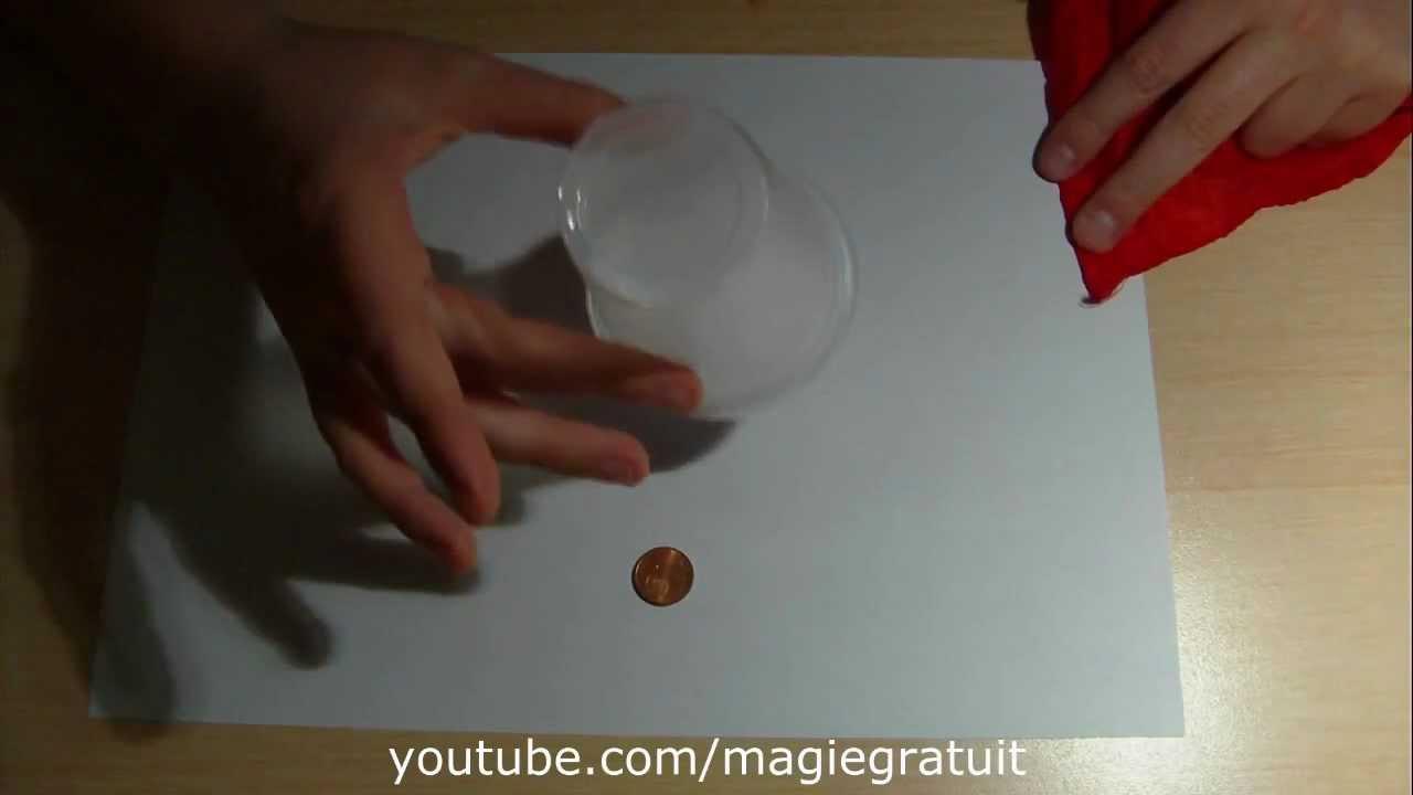 tour de magie facile gobelet