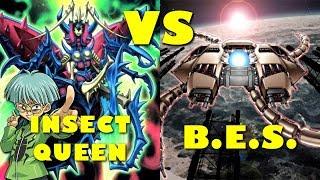 Real Life Yugioh - INSECT QUEEN vs B.E.S. | June 2018 Non-Meta Scrub League