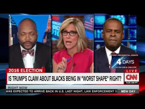CNN Panel Gets Heated Over Trump Black Outreach   ' I Let You Spew Your Ignorance '