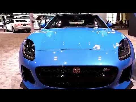 2019 Jaguar F Type Svr Blue Premium Features New Design Exterior Interior First Impression Hd