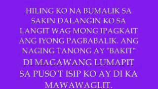 Repeat youtube video Hiling by BFpro w/ lyrics