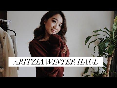 ARITZIA WINTER HAUL / ARITZIA SALE IDEAS | getawei