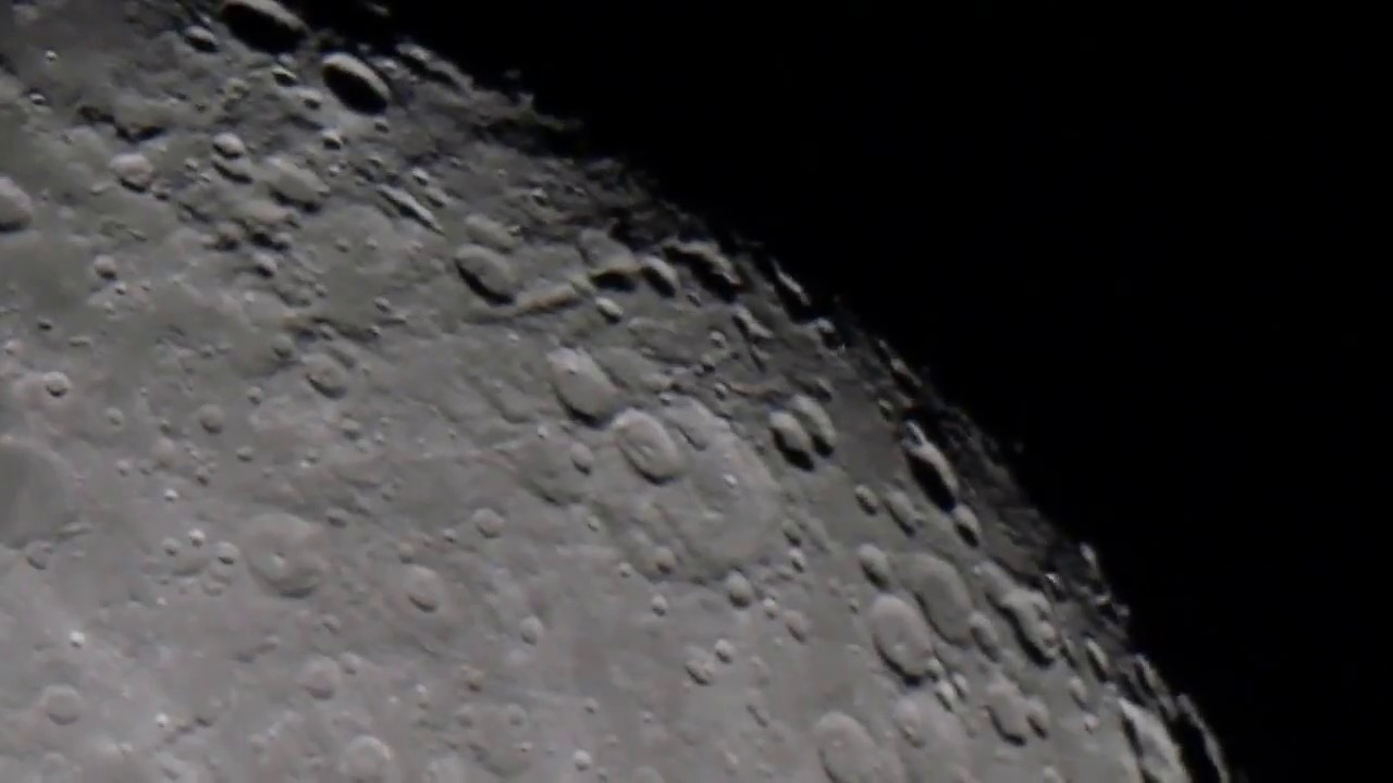 A short close up look at the moon astronomy - Moon close up ...