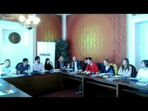Bratislava - Novi Sad Students Live Debate