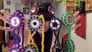 Repeat youtube video How to make Kandi Goggles (Tutorial)