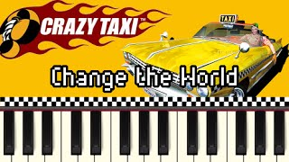 Change the World - Crazy Taxi [Synthesia] Mp3