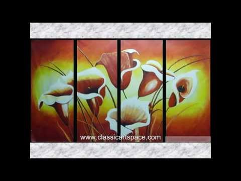 Wall Art Ideas-Hand Painted Oil Paintings