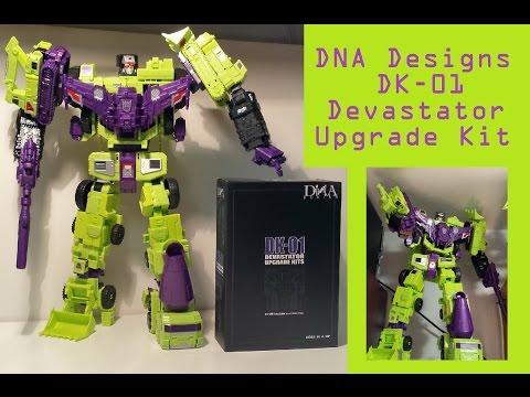 DNA Designs DK-01 Devastator Upgrade Kit