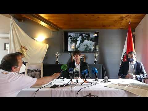 """Igor Emery presenta el proyecto """"Real Unión Club"""" de la familia Emery"""