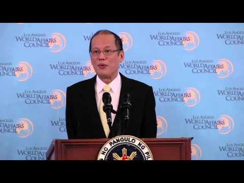 Philippines President Benigno Aquino III on China - February 16, 2016