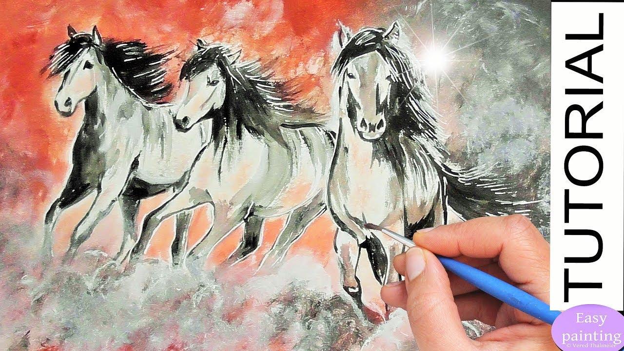 Blue Max Paint Horse