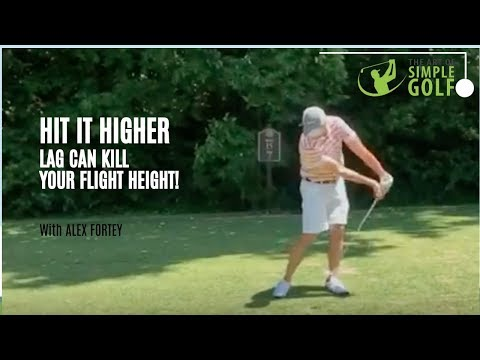 How To Hit Your Golf Ball Higher | Simple Golf Swing Tip