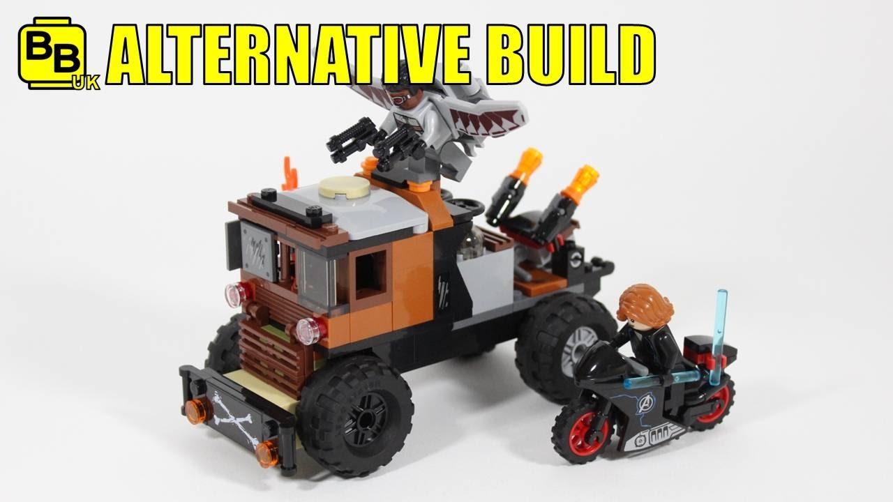 Lego Marvel 76050 Alternative Build Crossbones Truck Youtube