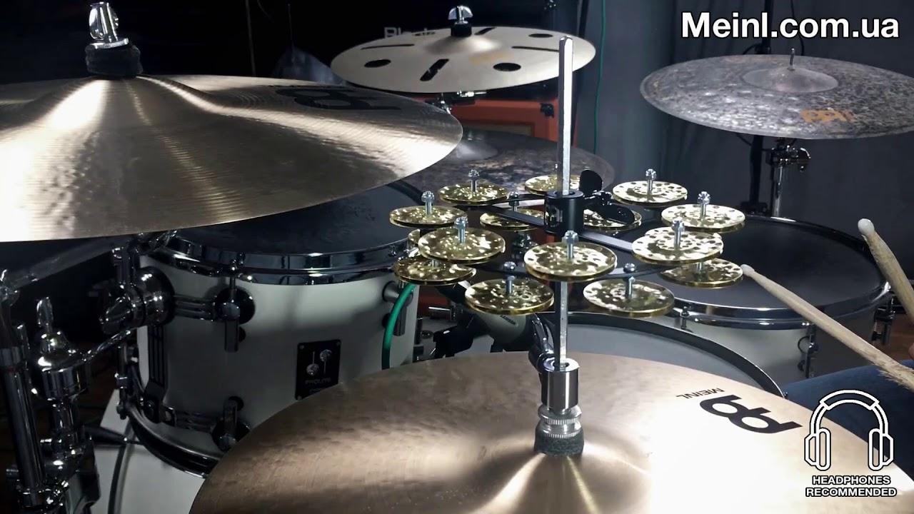 Tycoon Percussion Drum-Set Mountable Tambourine