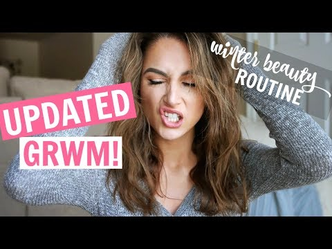 GRWM! Winter Hair & Makeup, Snow Day Routine, Netflix Holida