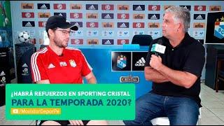 ¿Habrá refuerzos en Sporting Cristal? | Entrevista exclusiva de Diego Rebagliati a Manuel Barreto