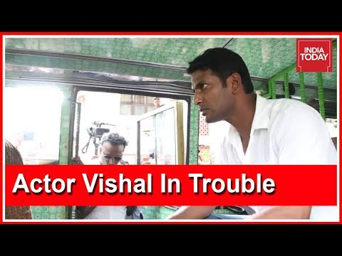 High Voltage Drama At TN Film Producers Office; Actor Vishal Arrested