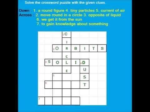English Crossword - Easy word puzzle game