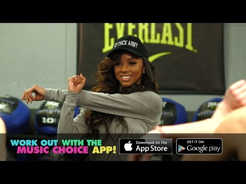 Work Out with Brittany Renner and Music Choice!