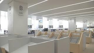 図書館全景(都立多摩図書館バーチャルナビ1)