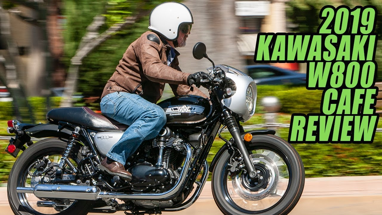 2019 Kawasaki W800 Cafe Review Youtube