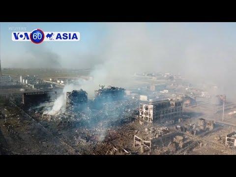 Nổ nhà máy hoá chất Trung Quốc, ít nhất 47 người chết (VOA)