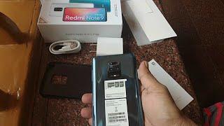 Redmi Note 9 Pro Max Unboxing (Interstellar Black, 6GB RAM, 128GB Storage)