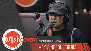 "Aby Singson performs ""Girl"" LIVE on Wish 107.5 Bus"