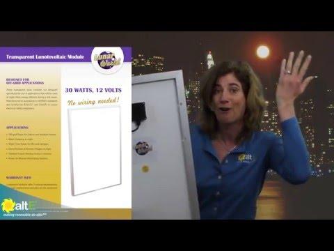 April Fools Joke - LunarWorld Transparent Lunotovoltaic Panels