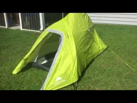 Design Flaw - Budget - Ozark Trail 1 Person Ultralight Backpacking Tent - Bugout/Camping/Hiking
