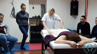 Full body and face neuro sedative massage therapy