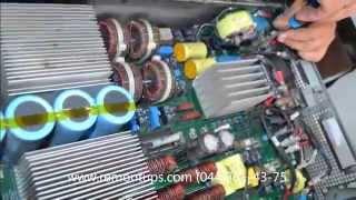 Сервис и Ремонт APC 8000 RT (SURT8000XLI)(Устранение неисправности ИБП APC 8000 на индикации горит красный крест и 2 светодиода зарядки http://remontups.com., 2015-06-27T17:57:44.000Z)