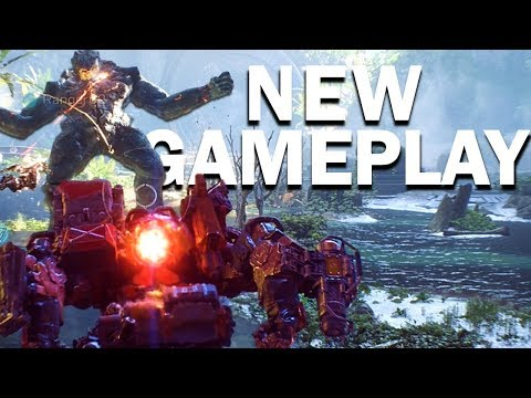 Anthem: NEW GAMEPLAY! - Stronghold Boss Fight! - Storm Gameplay!
