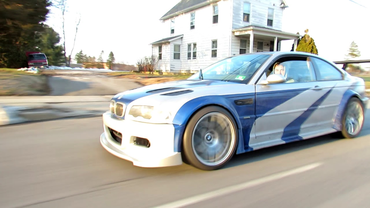 nfs most wanted m3 gtr do ya thang youtube