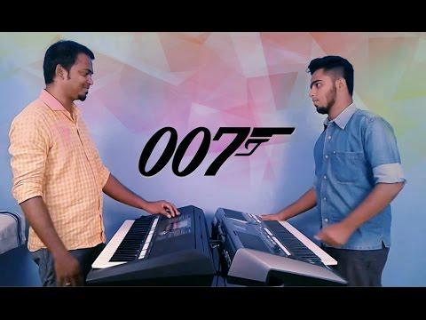 James Bond Theme Remix | Keyboard | Jubilson Singh | Jerin C Raj  [Live Video]