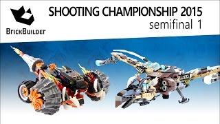 Lego Chima Shooting Championship 2015 - Semifinal 01 - Tormak's Blazer Vs Vultrix's Sky