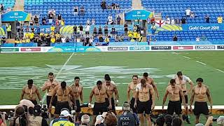 New Zealand All Blacks Rugby Sevens Winning HAKA