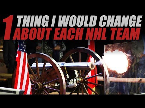 One Thing I Would Change About Each NHL Team