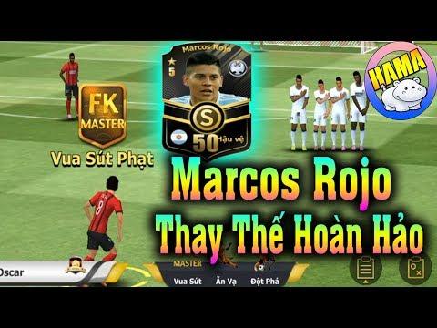 HamaG - Ngôi Sao Bóng Đá Mobasaka #33   Marcos Rojo THAY THẾ HOÀN HẢO