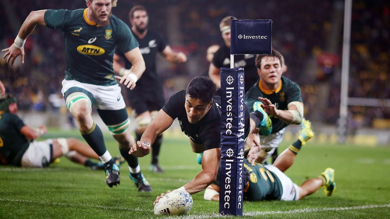 HIGHLIGHTS: All Blacks v South Africa first Test – 2018