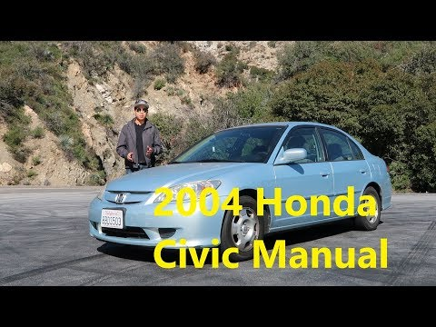 2004 Honda Civic Hybrid Manual - Perfect Daily?