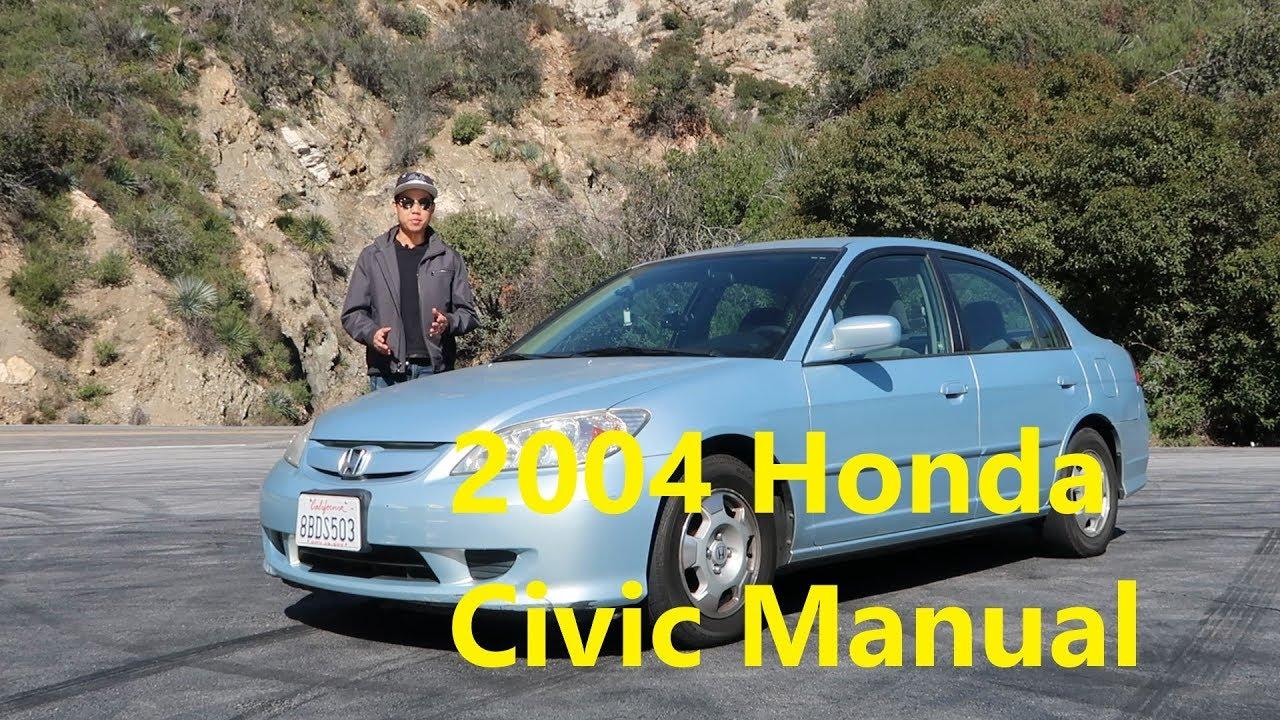 2004 Honda Civic Hybrid Manual Perfect Daily