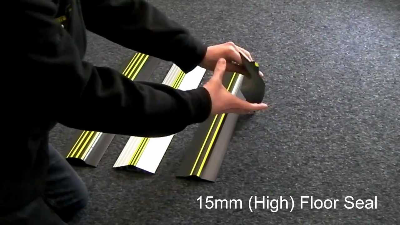 Garage Floor Water Stopper : Weather stop garage door floor seal product range youtube