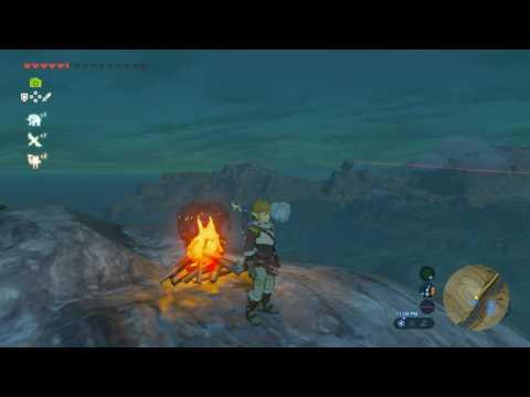 Zelda Breath of the wild Star Fragment Farming