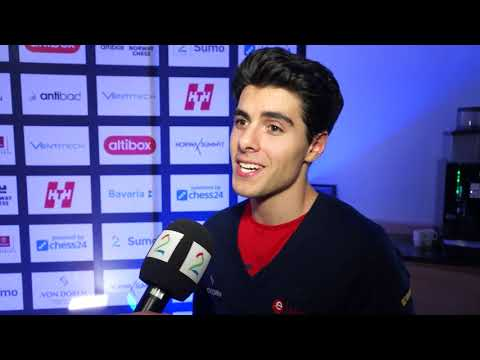 "Aryan Tari: ""At some point you get used to losing"" 