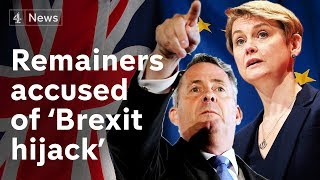 Brexiteer fury over Remainer MPs