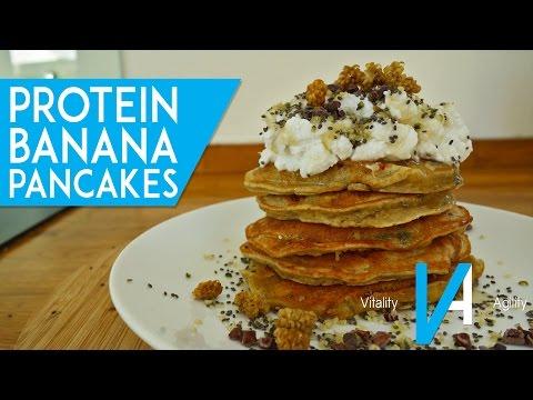 Protein Banana Pancakes (Quick & Easy)