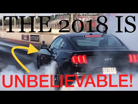HOW FAST A stock 2018 MUSTANG GT RUNS THE 1/4 MILE!!!