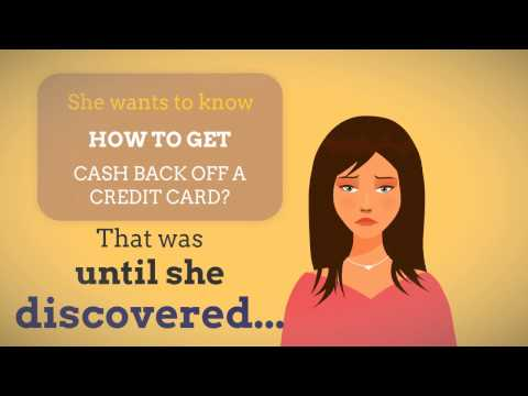 How To Get Cash Back Off Credit Card