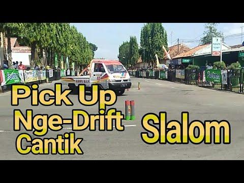 Slalom Pick Up Nge-Drift Cantik || Sumenep Madura